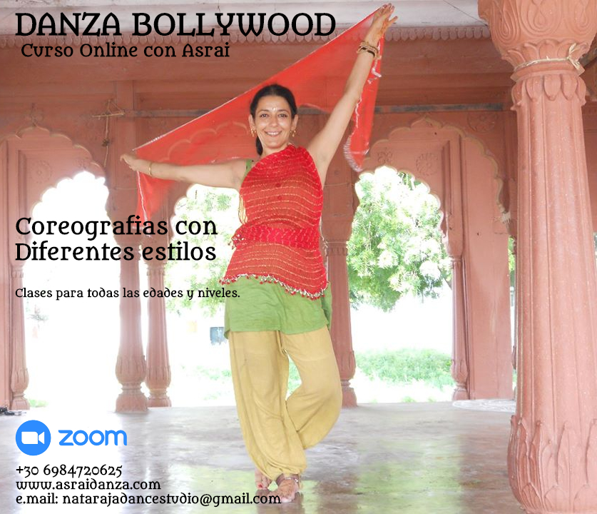 Danza Bollywood| Clases Online