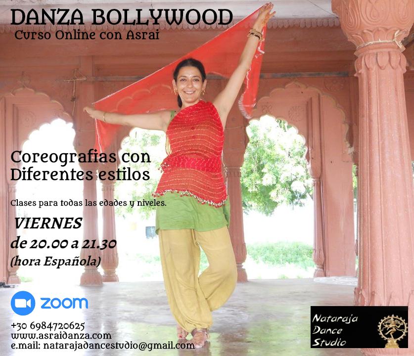 Curso de Danza Bollywood Online